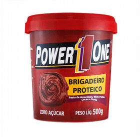Pasta de Amendoim Power One 500gr Brigadeiro Proteíco