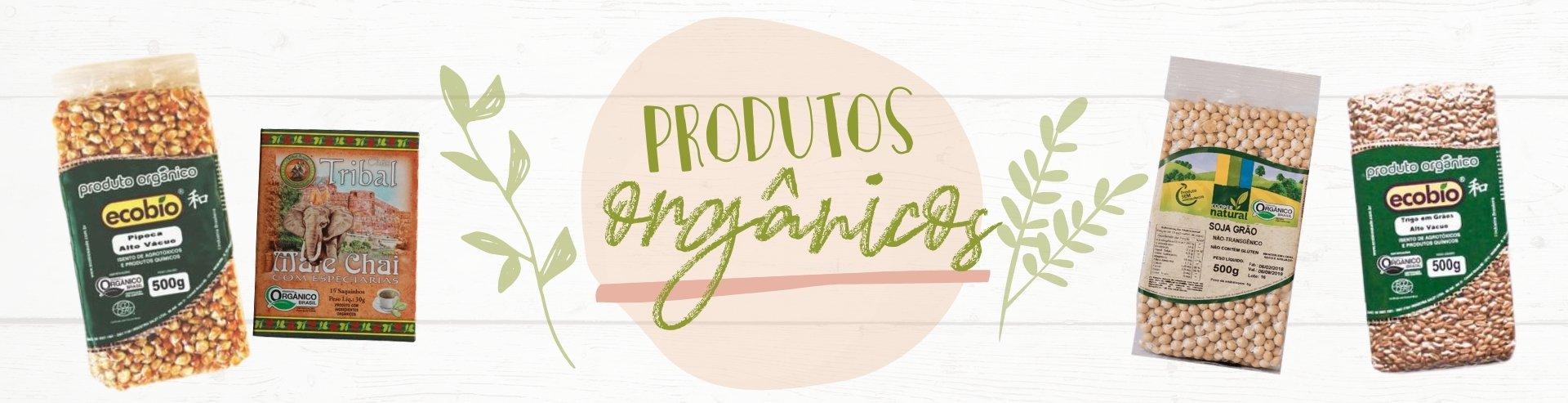 Produtos orgânicos 2021