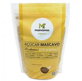 Açúcar Mascavo Orgânico Monama 270g