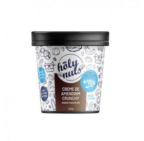 Creme de Amendoim Crunchy sabor chocolate com Whey Isolado+MU 450g