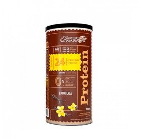 Chocolife, Protein Baunilha, Proteina Vegetal, 480g