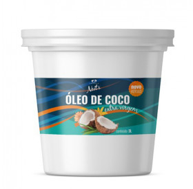 Óleo de Coco Extra-Virgem Empório NUTS 3 Litros