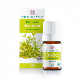 Óleo Essencial De Erva Doce (Funcho) (Foeniculum Vulgare) 5ml - Phytoterápica