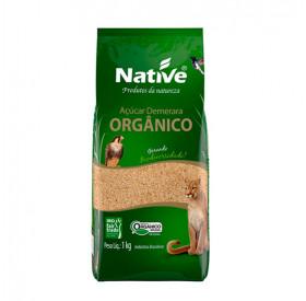 Açúcar Demerara Orgânico Native Saco 1kg