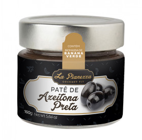 Pasta (Patê) de Azeitona Preta La Pianezza 160g