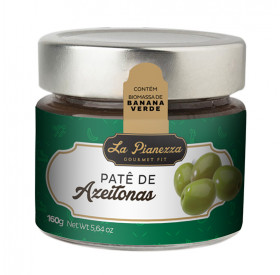 Pasta (Patê) de Azeitonas Verdes  La Pianezza 160g