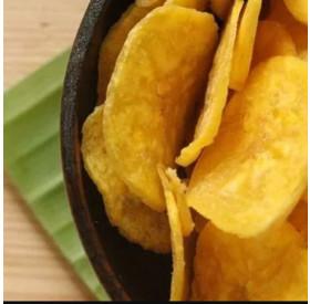 Banana Chips Doce com Açúcar e Canela