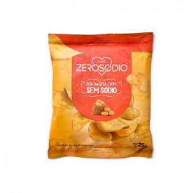 Batata Chips Sem Sódio 25g - ZEROSODIO