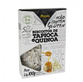 Biscoito Tapioca com Quinua 100g - Fhom