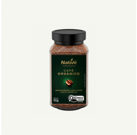 Café Liofilizado 100% Arábica Solúvel Orgânico Native 90gr