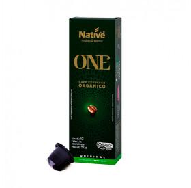 Café Orgânico Native Capsulas Com 10 Cápsulas 50g - Native