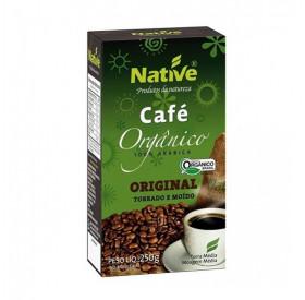 Café Orgânico Moido Torrado Native 250g