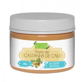 Pasta De Castanha De Caju Com Leite De Coco 300g