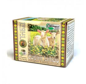 Chá Misto Capim Limão, Melissa e Maracujá Orgânico 15 g (15 saches) TRIBAL BRASIL