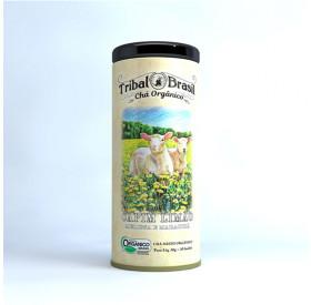 Chá Misto Capim Limão, Melissa e Maracujá Orgânico 30 g (30 saches) – latinha - TRIBAL BRASIL