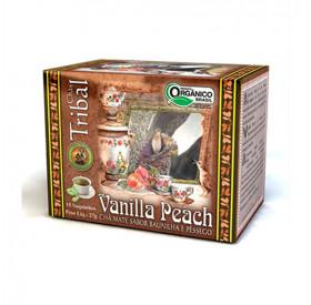 Chá Misto de Vanilla Peach Orgânico 27 g (15 saches) TRIBAL BRASIL