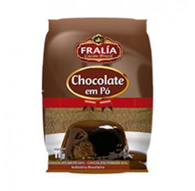 Chocolate em Pó 50% 1kg - FRALÍA