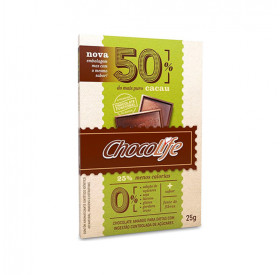 Chocolate Funcional 50% Cacau - Chocolife 25g