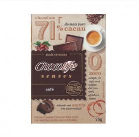 Chocolife Senses 71% Café 25g