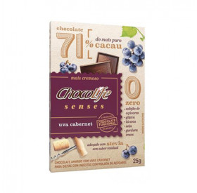 CHOCOLIFE SENSES 71% UVA CABERNET 25g