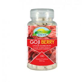 Colágeno com Goji Berry 180 tabletes Nutrigold - 800 mg