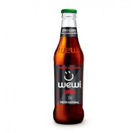 Refrigerante Orgânico Cola Zero 255ml - Wewi