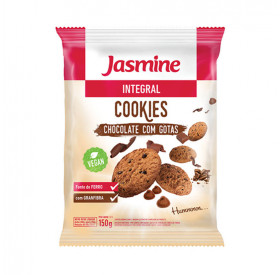 Cookies de Chocolate com Gotas Integral Jasmine150g