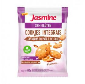 Cookies Integral sem Glúten Castanha do Pará e Caju - Jasmine 150g