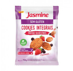 Cookies Integral sem Glúten Frutas Silvestres - Jasmine150g