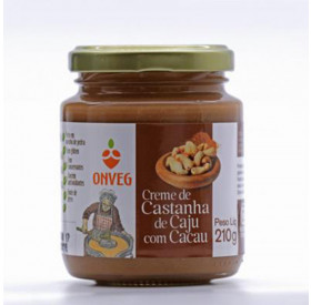 Creme de Castanha de Caju com Cacau 210 g *Prox. da validade