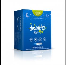 Chá Misto Desinchá Noite - 60 envelopes