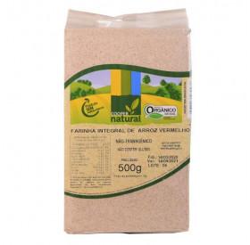 Farinha Integral de Arroz Vermelho 500g - COOPER NATURAL