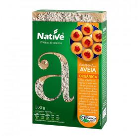 FARINHA DE AVEIA 300g - ORGÂNICA NATIVE