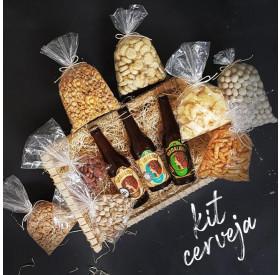 KIT Presente Cerveja e Snacks Empório Figueira