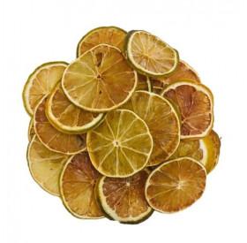 Limão Tahiti Desidratado em Rodelas