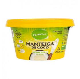 Manteiga De Coco Qualicoco Sem Sal 200g