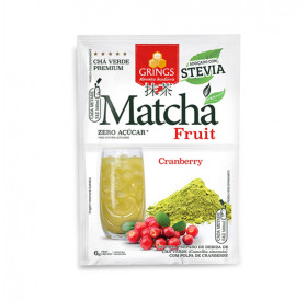 Matcha Fruit Sabor Cranberry 6g