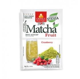 Matcha Fruit Sabor Cranberry 6g