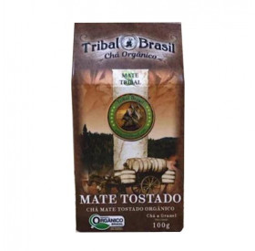 Chá Erva Mate Tostado Orgânico 100 g TRIBAL BRASIL
