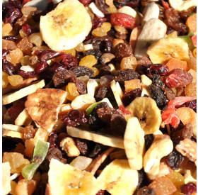 Mix de Frutas Secas (O Mix de Frutas Desidratadas Contém: Abacaxi, Tâmara, Maça, Mamão, Banana, Manga, Uvas Passas, Damasco Desidratados.)