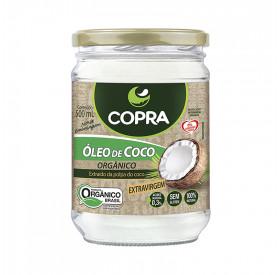 Óleo de Coco Orgânico COPRA - 500 ml