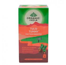 Chá Tummy (Digestão) com Tulsi Organic India