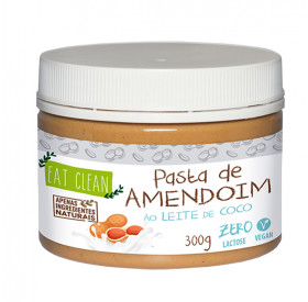 Pasta De Amendoim Com Leite De Coco 300g