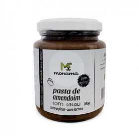 Pasta de Amendoim com Cacau, Xylitol e Proteína Monama 200 g