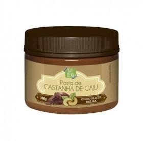 PASTA DE CASTANHA DE CAJU CHOCOLATE BELGA - POTE 300G