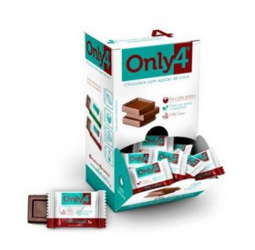 Pastilha De Chocolate 70% - 5g - Only 4