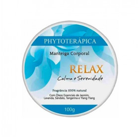 Manteiga Corporal Relax (Calma e Serenidade) 100gr Phytoterápica