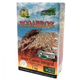Arroz Cateto Integral Orgânico -1 Kg - ECOARROZ