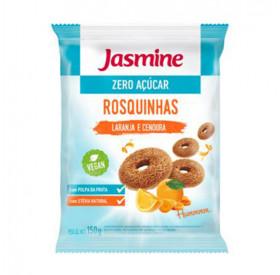 Rosquinha Integral Light Laranja, Cenoura e Mel - Jasmine 150g