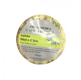 Sabonete Artesanal de Mel e Chia 105g